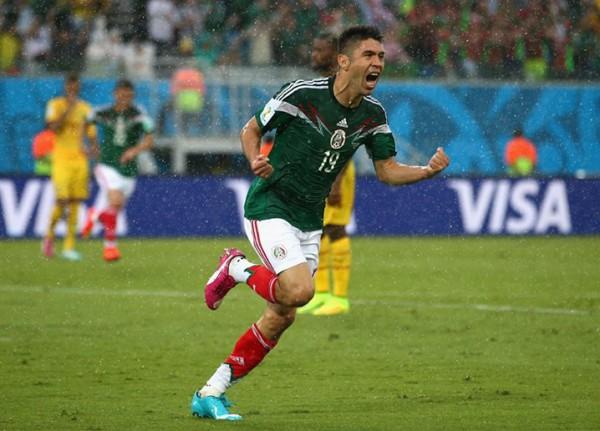 مباراة المكسيك والكاميرون ..صور
