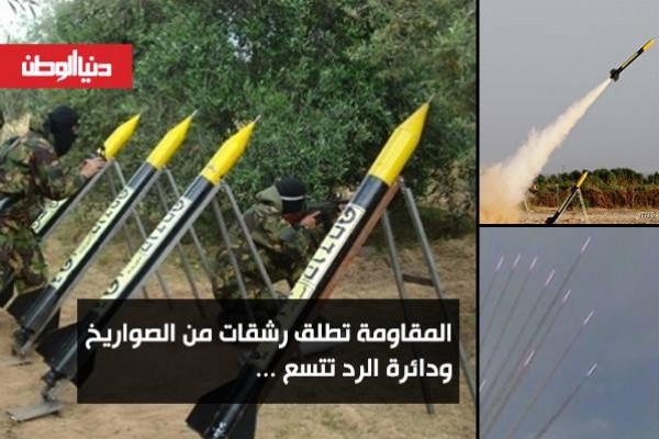 الجهاد الاسلامي يدخل المعركة برشقة صواريخ وحماس تستهدف طائرة:230 صاروخ و11 اصابة اسرائيلية..محدث3