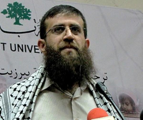 قوات الاحتلال تعتقل الشيخ خضر عدنان قبل قليل