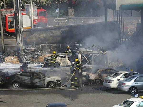 المقاومة أطلقت أكثر من 150 صاروخ اليوم أصابت مطار بن غوريون وتسببت بحرائق ضخمة في أسدود وكيبوتس زكيم