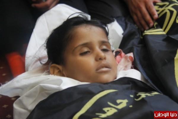 """الطفلة سارة ووالدها وعمها ..رفح: """"صاروخ اسرائيلي"""" سرق البسمة من وجوه عائلة شيخ العيد..صور"""