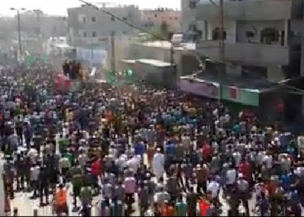 بالفيديو: كم مواطن من رفح خرج في تشييع ابرز قادة القسام العطار وبرهوم وابو شمالة؟