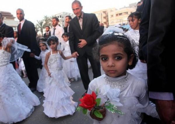 الزواج مؤجل في غزة