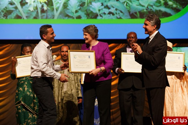 """""""العمل الزراعي"""": الإعلان رسميا عن أسماء الفائزين بجائزة خط الاستواء في نيويورك"""