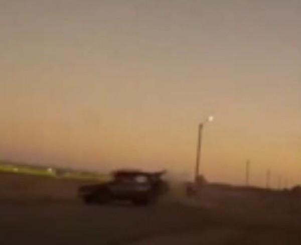 راكب دراجة نارية يتعرض لحادث قاتل