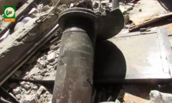 """فيديو: """"المقاومة"""" تنشر بقايا آليات فجرتها بالشجاعية"""