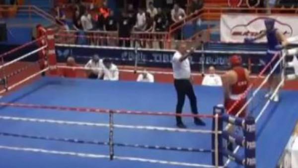 بالفيديو.. انتقام ملاكم خاسر من الحكم داخل الحلبة