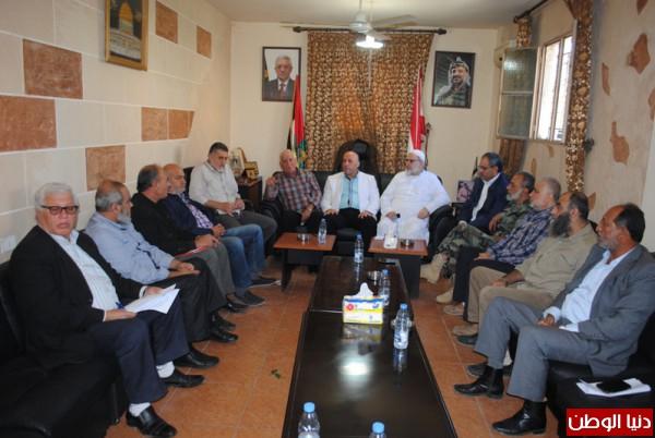 اللجنة الامنية الفلسطينية العليا تجتمع في مقر الامن الوطني الفلسطيني