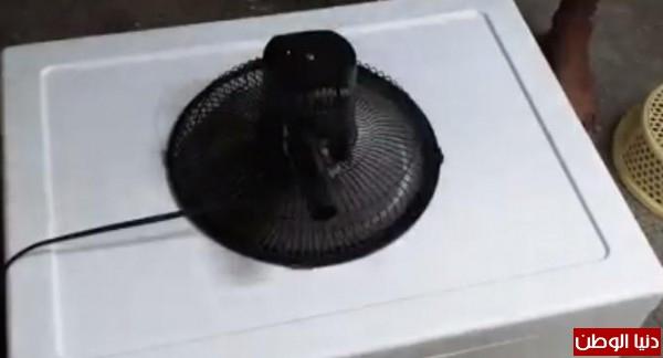 كيف تصنع مكيف هواء بأدوات بسيطة داخل المنزل