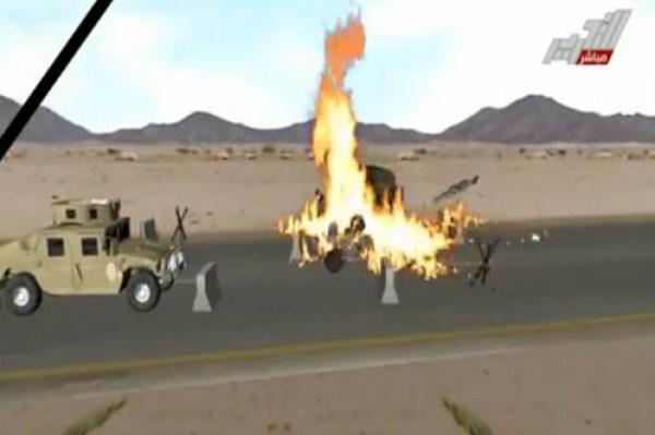 شاهد بالفيديو.. كيف نفّذ الارهابيون عملية قتل 33 جندي وضابط مصري
