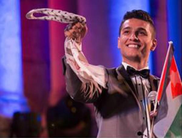 محمد عساف يفوز بجائزة أم تي في للموسيقى الأوروبية عن فئة أفضل فنان في الشرق الأوسط