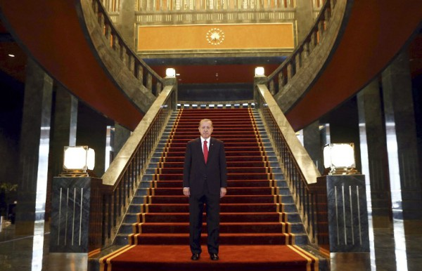 قصر أردوغان الجديد