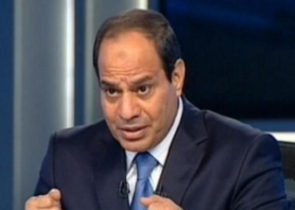 الرئيس السيسي : في حال اقامة الدولة الفلسطينية سنرسل الجيش المصري لتثبيتها