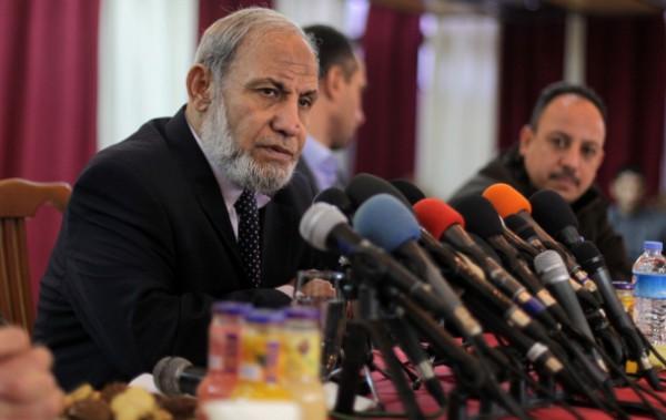 """يُمكن تمديد عمل حكومة الوفاق و""""داعش"""" كفّرتنا..الزهار: اتصالات بين مصر وحماس لاستعادة العلاقات"""