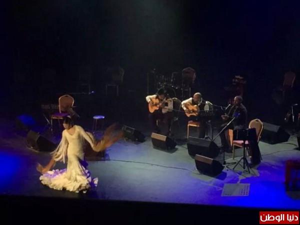 Arab-Andalus Concert يجمع الفنان العراقي إلهام المدفعي والراقصة الإسبانية La Chimi