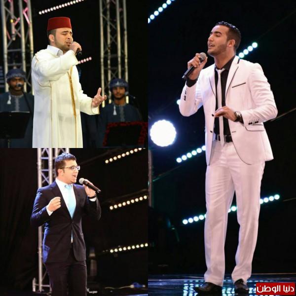 المغربي أنس براق ثالثا في مسابقة منشد الشارقة