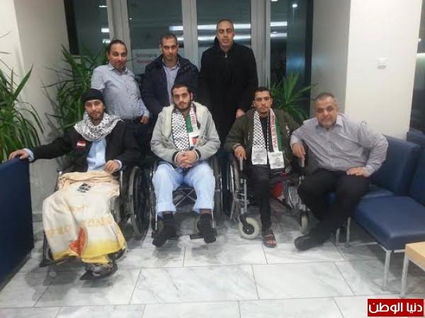 جرحى العدوان الاسرائيلى على غزة في مستشفيات النمسا..زيارة خاصة