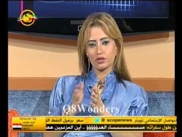 بالفيديو نادية الجندي توقف برنامج مذيعة كويتية بسبب هذه الألفاظ عنها