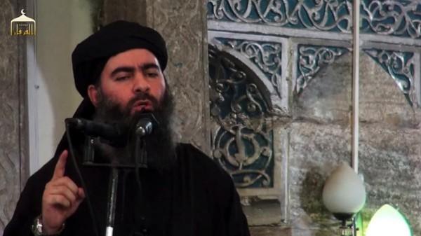 مفاجأة خليفة داعش أصيب ونجا بأعجوبة