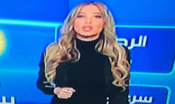 بالصور هجوم على مذيعة لبنانية تظهر بـ الهوت شورت حداداً على العاهل السعودي