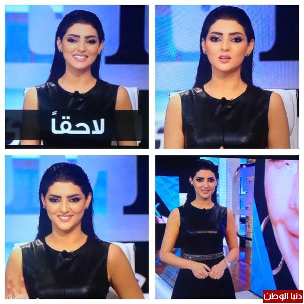 المذيعة المغربية مريم سعيد تتألق في برنامج جديد على ام بي سي