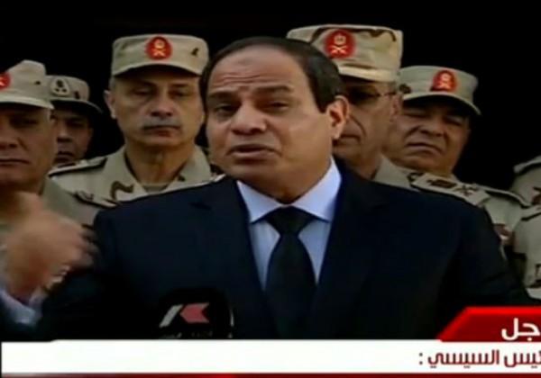 السيسى: أنا مستعد أتقتل دفاعا عن الشعب وهقابل ربنا باللى عملته