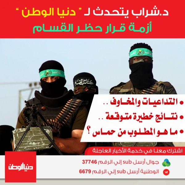 """""""المخاوف والتداعيات"""" : ماذا بعد حظر كتائب القسام واعتبارها """"ارهابية"""" ؟"""