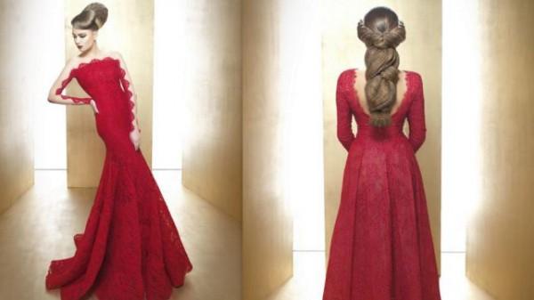 الشعر المجعّد عنوان تسريحات الـ Crimpies للعروس