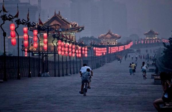 السور القديم لمدينة شيان: أقدم وأفضل أسوار المدن الصينية