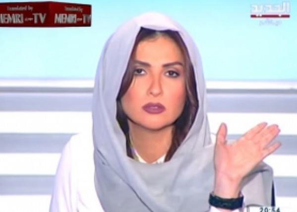 شاهد بالفيديو مشادة على الهواء مباشرة بين مذيعة لبنانية وشيخ اسلامي