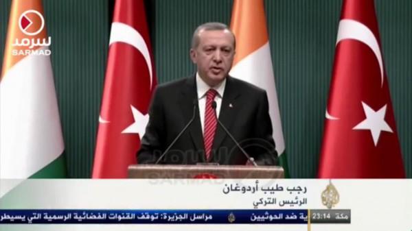 أردوغان: أدعو إيران لسحب قواتها من اليمن والعراق وسوريا