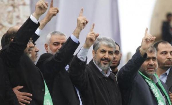 حماس والجهاد الاسلامي ومسيرة ضد تصريحات الرئيس عباس