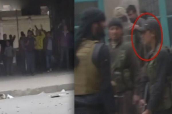 """بالفيديو والصور: هجوم على """"العربية"""" لنشرها تقرير يظهر فتاة مع مقاتلي النصرة"""
