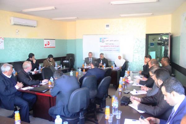 دائرة شئون اللاجئين في حركة حماس تعقد ورشة عمل لمناقشة الخيارات المتاحة أمام فلسطيني سوريا