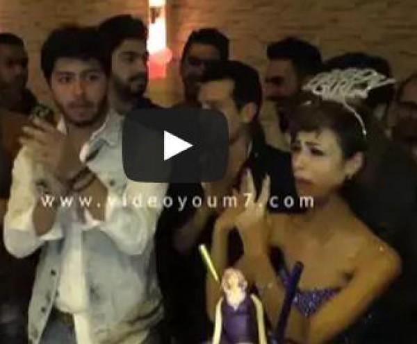 حفل عيد ميلاد رنا سماحة مطربة ستار أكاديمى