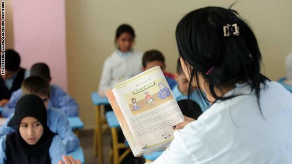 تُسخن عُظيماتها جملة مثيرة للجدل بمقرّر دراسي في المغرب