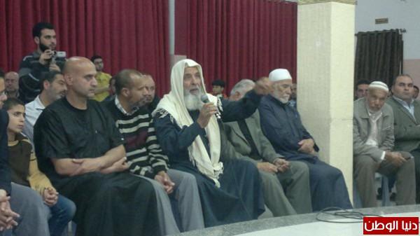 شباب حزب التحرير في مدينة غزة يعقدون ندوة سياسية فكرية بحضور مميز من الوجهاء والمخاتير والمهتمين