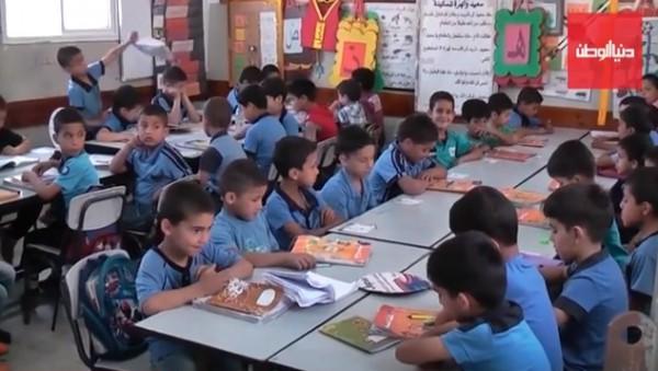 """فيديو يرصد معاناة الطلبة… طولكرم: مدرسة """"ذكور إكتابا"""" لا تصلح للدراسة على الإطلاق؟!"""