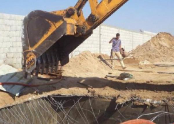 الجيش المصري يعلن تدمير 521 فتحة نفق بعضها مزود بخط سكة حديد وغرف اتصال !!