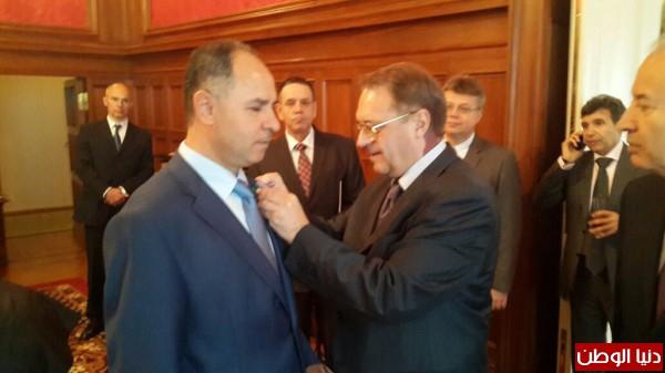 روسيا تودع السفير د. فائد مصطفى