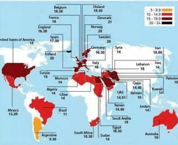 أطول وأقصر فترات الصيام عبر العالم