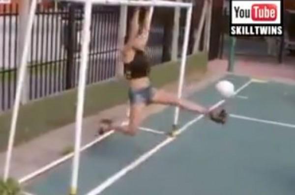 مهارات النساء الكروية تجذب 21 مليون مشاهد عبر يوتيوب