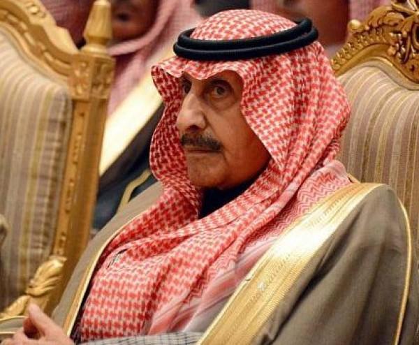 وفاة الأمير عبدالله بن عبدالعزيز بن مساعد بن جلوي آل سعود أمير منطقة الحدود الشمالية