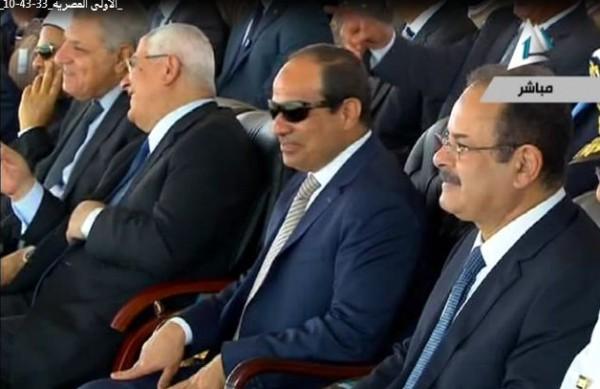 فيديو.. سر ضحك السيسي في حفل تخرج طلاب الشرطة