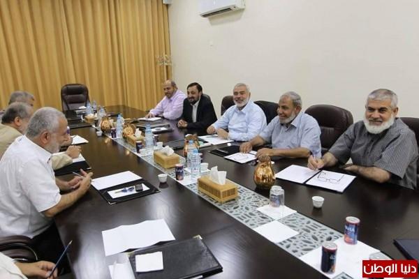 اجتماع قيادي لحركتي حماس والجهاد الاسلامي لبحث التهدئة والمصالحة