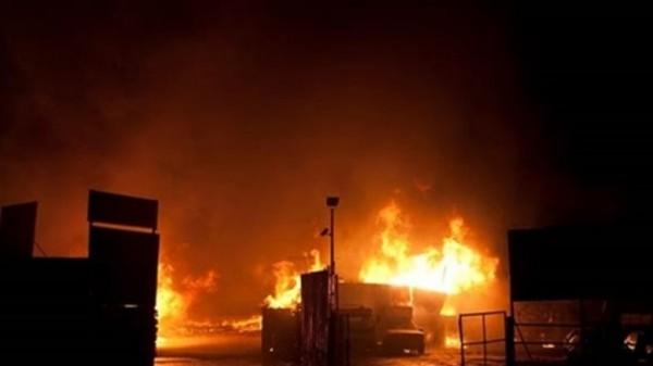 الدفاع المدني يسيطر على حريق مزرعة دواجن في قرية الهاشمية غرب جنين