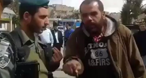 أجمل حوار بين فلسطيني وجندي في الجيش الإسرائيلي