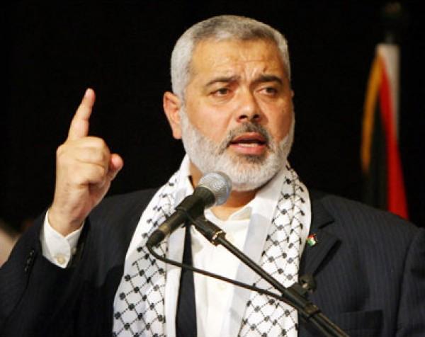 هنية: غزة مستعدة للمواجهة