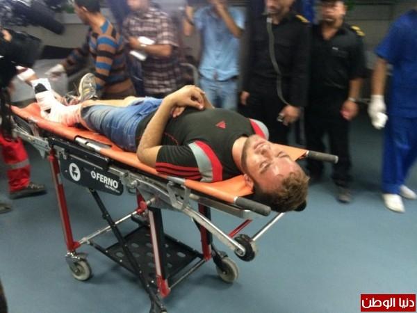 بالصور..غزة:4 شهداء و34 إصابة في اشتباكات بين قوات الاحتلال و شبان فلسطينيين