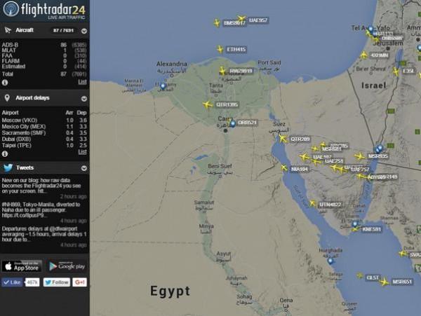 مصر تعلن أن السبب عطل فني.. تحطّم طائرة روسية على متنها 224 شخصا في سيناء